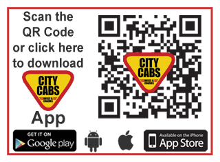 Download the City Cabs App